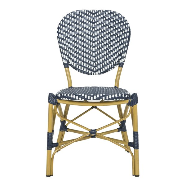 Pleasing Modern Contemporary French Bistro Chairs Navy Allmodern Gmtry Best Dining Table And Chair Ideas Images Gmtryco