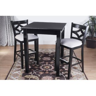 Fralick 3 Piece Pub Table Set Bloomsbury Market