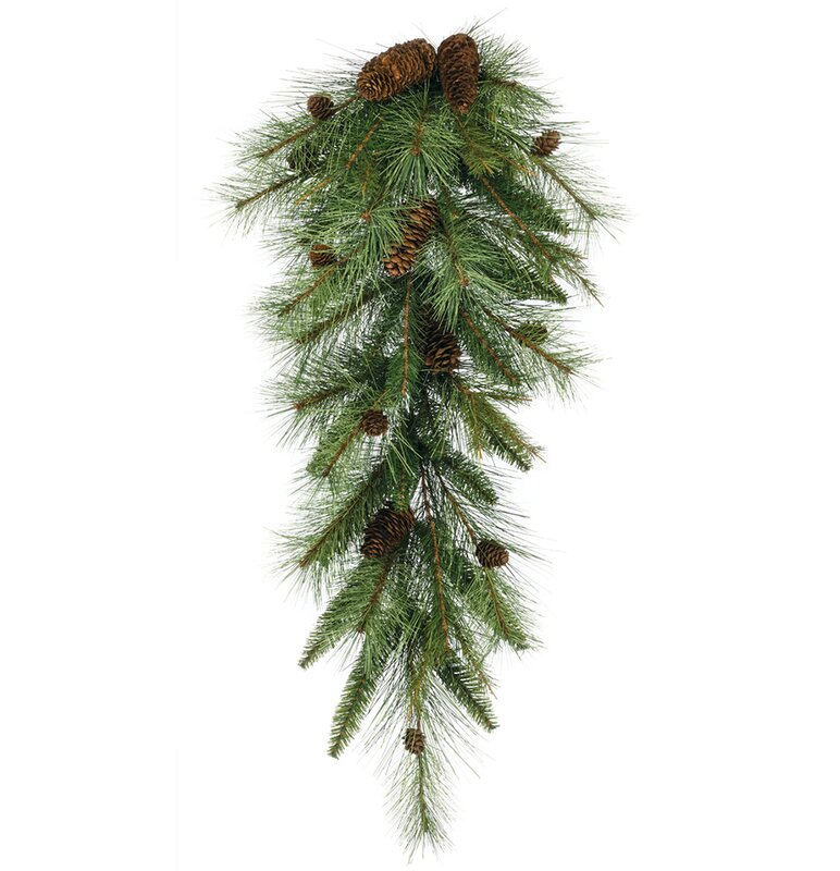 The Holiday Aisle Artificial Mixed Pine Swag