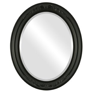 House of Hampton Winfrey Framed Oval Accent Mirror