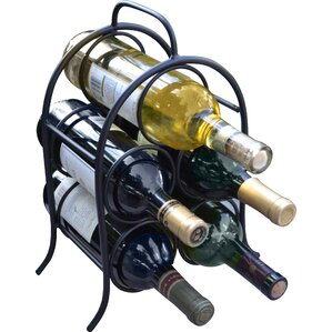 Leeland 5 Bottle Tabletop Wine Rack by Winston Porter