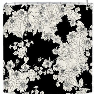 Victoria Krupp Floral Single Shower Curtain