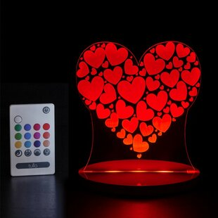 Tulio Dream Lights Heart Night Light