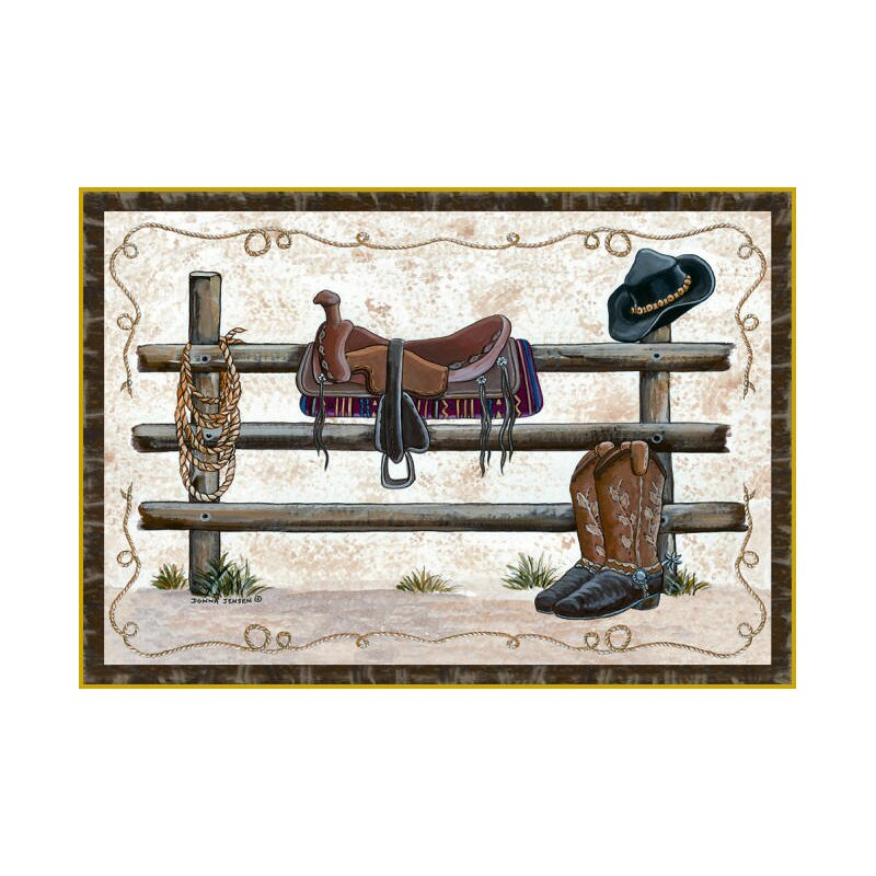 Home Accents Western Area Rug from Wayfair!