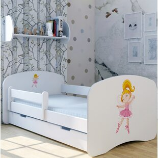 Dance Fairy Bed With Mattress And Drawer By Zoomie Kids