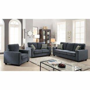 Wrought Studio Cabell Sleeper Configurable Living Room Set