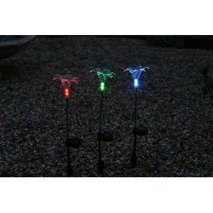Lily 3 Light Pathway Lights (Set Of 3) By Sol 72 Outdoor