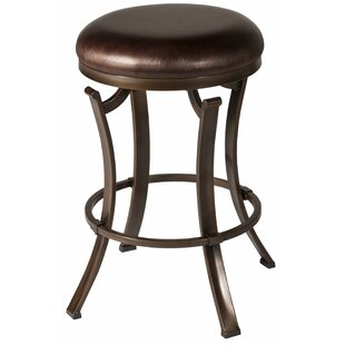 Karsten Swivel Bar Stool by Loon Peak