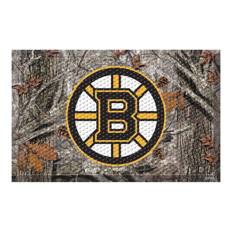 Fanmats Nhl Boston Bruins 30 In X 19 In Non Slip Outdoor Door Mat Wayfair Ca