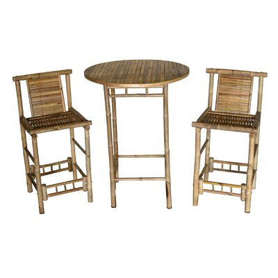 Wedgewood 3 Piece Bistro Set by Bay Isle Home Herry Up