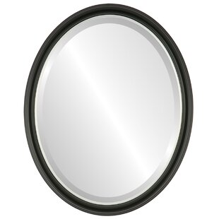 Wrought Studio Boatman Framed Oval Accent Mirror