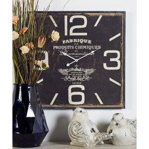 Oversized Philo Wood Wall Clock