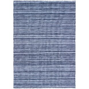 Englund Ombre Hand-Woven Blue Indoor/Outdoor Area Rug