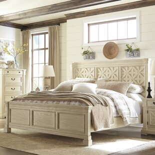 Lark Manor Alsace Traditional Panel Bed