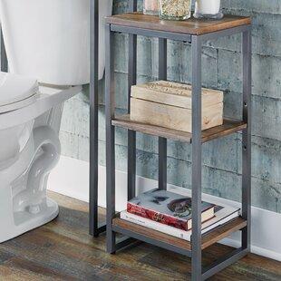 Great Price Eckles 13 W x 28.25 H Bathroom Shelf By17 Stories