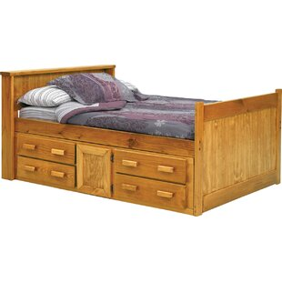 Captain Bed with Storage by Chelsea Home