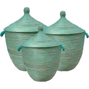 Wicker Laundry Basket By Bloomsbury Market