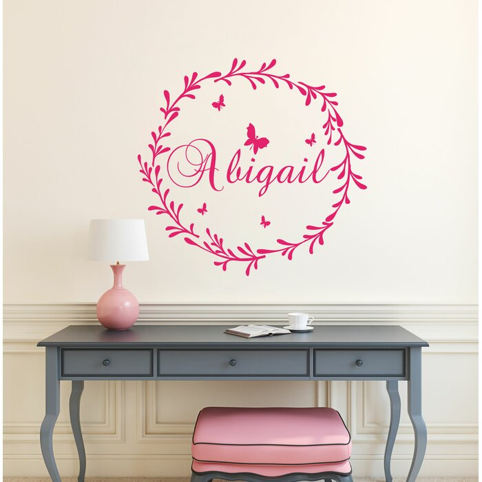 Personalized Rustic Nursery Wall Decal
