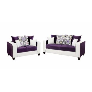 Inexpensive Winburn Velvet 2 Piece Living Room Set by Latitude Run Reviews (2019) & Buyer's Guide