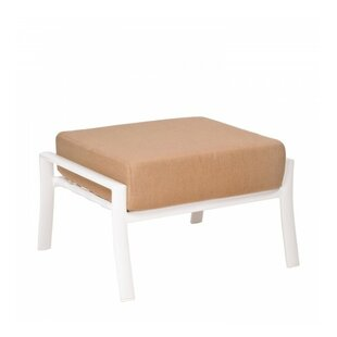 Woodard Fremont Cushion Ottoman with Cushion
