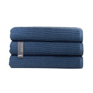 Oxford Turkish Cotton Bath Towel (Set of 3)