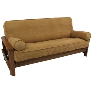 3 Piece Box Cushion Futon Slipcover Set