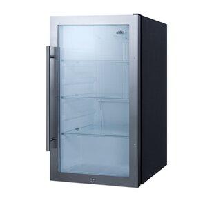 Summit Appliance Outdoor Refrigeration 3.1 Cubic Feet cu. ft. Convertible Mini Fridge