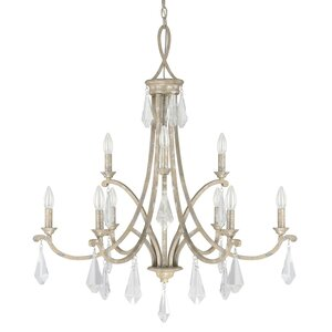 Harlow 9-Light Candle-Style Chandelier