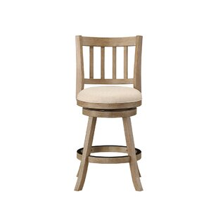 Great Price Appomattox 24 Swivel Bar Stool by Three Posts Reviews (2019) & Buyer's Guide
