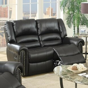 Savings Sabin Reclining Loveseat by Charlton Home Reviews (2019) & Buyer's Guide