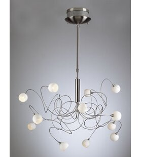Orren Ellis Medrano 12-Light Sputnik Chandelier