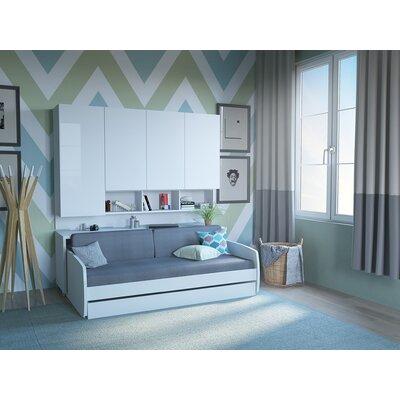 Strange Brayden Studio Gautreau Compact Twin Murphy Bed Color White Creativecarmelina Interior Chair Design Creativecarmelinacom
