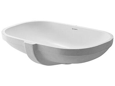 Undermount Bathroom Sink duravit d-code oval undermount bathroom sink with overflow