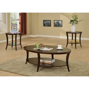Check Prices Rhonda 3 Piece Coffee Table Set ByCrown Mark