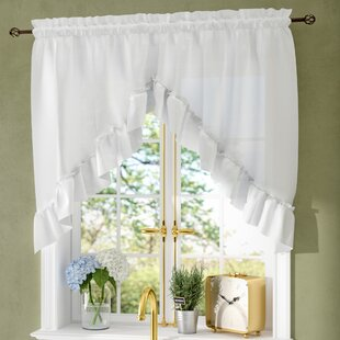 Swag Curtains & Valances You\'ll Love | Wayfair