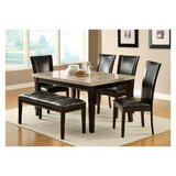 Gayton 6 Piece Dining Table Set by Red Barrel Studio®