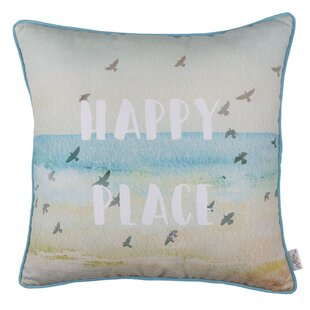 Michele Square Quote Printed Pillow Cover