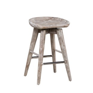 Manzer 24 Swivel Bar Stool