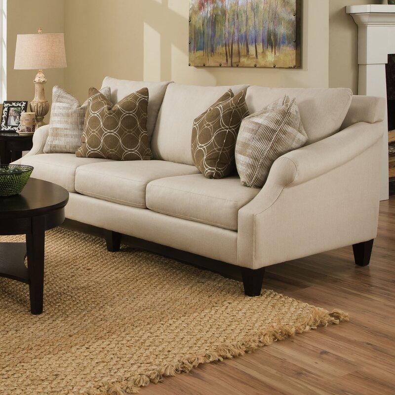 Molly Extra Long Pique Flax Sofa