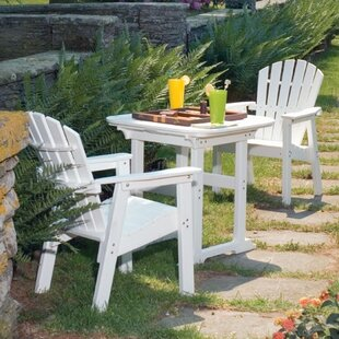 Seaside Casual Portsmouth 3 Piece Dining Set