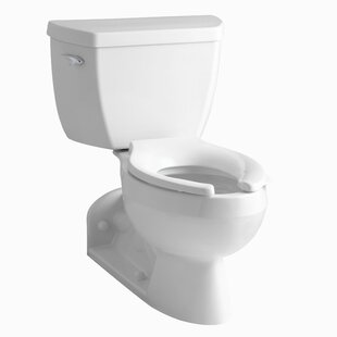 Kohler Barrington Two-Piece Elongated 1.0 GPM Toilet with Pressure Lite Fl..