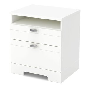Reevo 2 Drawer Nightstand by South Shore