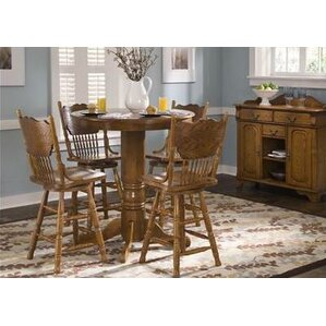 Acadian  5 Piece Dining Set by Alcott Hill