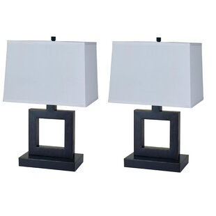 Karan 3 Way Metal 22 Table Lamp (Set of 2)