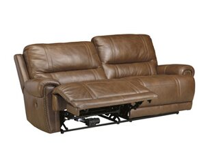Paron Leather Reclining Sofa by Signature Design by Ashley