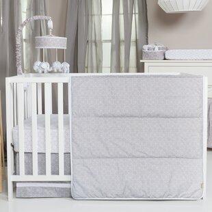 Great Price Troncoso Circles 3 Piece Crib Bedding Set ByHarriet Bee