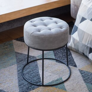 Steadham Stackable Footstool Tufted Ottoman by Ivy Bronx