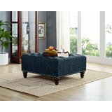 Moorehead Tufted Cocktail Ottoman by Canora Grey