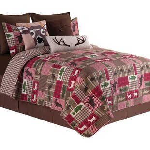 Happy Camper Reversible Quilt Set by C&F Home
