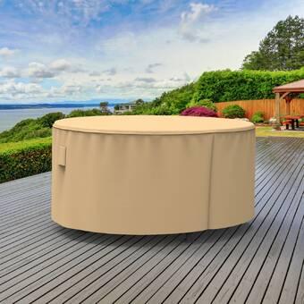 Koverroos Dupont Tyvek Round Table Cover Wayfair